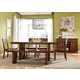 Intercon Furniture Tremont 7-Piece Fixed Top Dining Set in Earthy Cinnamon