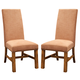 Intercon Furniture Timberline Parson's Side Chair in Saddle Wood (Set of 2)