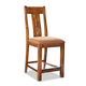 Intercon Furniture Timberline Splat Back Bar Stool in Saddle Wood (Set of 2)