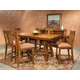Intercon Furniture Timberline 7-Piece Gathering Set in Saddle Wood