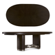 A.R.T Furniture Greenpoint Oval Dining Table in Coffee Bean 214223-2304
