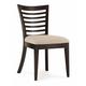 Casana Beckett Slat Side Chair in Dark Birch (Set of 2) CLOSEOUT