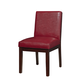 Standard Furniture Couture Elegance Upholstered Side Chair (Set of 2) in Red 10569