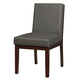 Standard Furniture Couture Elegance Upholstered Side Chair (Set of 2) in Gray 10565
