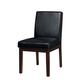 Standard Furniture Couture Elegance Upholstered Side Chair (Set of 2) in Black 10567