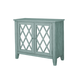 Standard Furniture Vintage Accent Console in Blue 11315