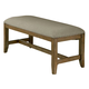 Standard Furniture Omaha Upholstered Bench in Grey 16688