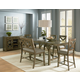 Standard Furniture Omaha 6-Piece Counter Height Table Set in Grey