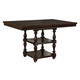 Standard Furniture McGregor Counter Height Table in Midnight Brown 17736