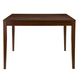 Alpine Furniture Anderson Pub Table with Butterfly Leaf in Medium Cherry 113-04