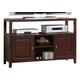 Alpine Furniture Anderson Server / Flat Panel TV Console in Medium Cherry 113-03