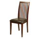 Alpine Furniture Anderson Side Chairs with Bicast Cushion (Set of 2) in Medium Cherry 113-02