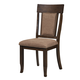 Alpine Furniture Columbia Side Chairs (Set of 2) in Walnut 1420-02