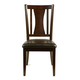 Alpine Furniture Bradbury Side Chair (SET OF 2) in Cappuccino 637-23S