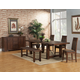 Alpine Furniture Pierre 5-Piece Dining Room Set in Antique Cappuccino