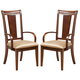 Alpine Furniture Saratoga Arm Chair (Set of 2) in Dark Walnut 341-46