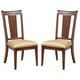 Alpine Furniture Saratoga Side Chair (Set of 2) in Dark Walnut 341-36