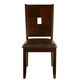 Alpine Furniture Lakeport Side Chair (Set of 2) in Espresso 551-02