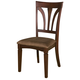 Alpine Furniture Antioch Side Chair (SET OF 2) in Medium Cherry 8933-03