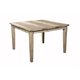 Alpine Furniture Aspen Pub Table in Iron Brush Antique Natural 8812-03