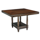Leahlyn Counter Extension Dining Table in Medium Brown D436-32