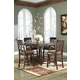 Leahlyn Counterheight Dining Table Set in Medium Brown