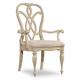 Hooker Furniture Leesburg Splatback Arm Chair (Set of 2) in Antique White 5481-75300