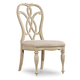 Hooker Furniture Leesburg Splatback Side Chair (Set of 2) in Antique White 5481-75310