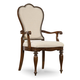 Hooker Furniture Leesburg Upholstered Arm Chair (Set of 2) in Mahogany 5381-75400
