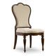 Hooker Furniture Leesburg Upholstered Side Chair (Set of 2) in Mahogany 5381-75410