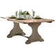 Liberty Furniture Harbor View Trestle Table in Sand 531-T4294