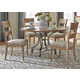 Liberty Furniture Harbor View 5-Piece Round Dining Set in Sand