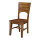 John Thomas Furniture Canyon Full Dining Side Chair (Set of 2) in Pecan C5948B