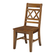 John Thomas Furniture Canyon Double XX Dining Side Chair (Set of 2) in Pecan C59-47B
