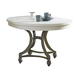 Liberty Furniture Harbor View II Round Dining Table in Linen 631-T4254
