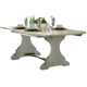 Liberty Furniture Harbor View II Trestle Table in Linen 631-T4294