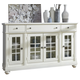 Liberty Furniture Harbor View II Buffet in Linen 631-CB6642