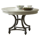 Liberty Furniture Harbor View III Round Dining Table in Dove Gray 731-T4254