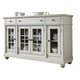 Liberty Furniture Harbor View III Buffet in Dove Gray 731-CB6642