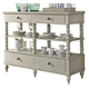 Liberty Furniture Harbor View III Sideboard in Dove Gray 731-SB5844