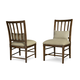 A.R.T Furniture Echo Park Slat-Back Side Chair (Set of 2) in Mocha 212202-2016