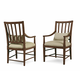 A.R.T Furniture Echo Park Slat-Back Arm Chair (Set of 2) in Mocha 212203-2016