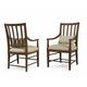 A.R.T Furniture Echo Park Slat-Back Arm Chair (Set of 2) in Mocha 212203-2016