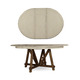 A.R.T Furniture Echo Park Round Dining Table in Two Tone 212225-2617