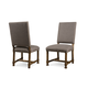 A.R.T Furniture Echo Park Uph. Back Side Chair (Set of 2) in Mocha 212204-2016