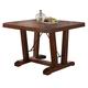 New Classic Furniture Lanesboro Counter Table in Distressed
