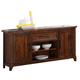 New Classic Furniture Lanesboro Console in Distressed