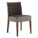 Domitalia Ariel Chair in Sand/Walnut ARIEL.S.0K0.NC.FTD1 (Set of 2)