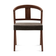Domitalia Gea Chair in Brown and Chocolate GEA.S.0K0.CHS.8IW (Set of 2)