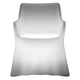 Domitalia Phantom Indoor/Outdoor Arm Chair in Translucent
